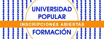 Cursos de Formación Universidad Popular