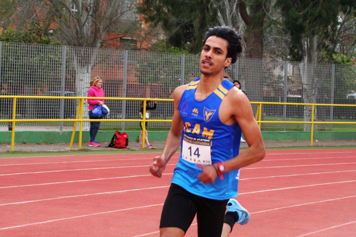 Atletas del UCAM Atletismo Cartagena