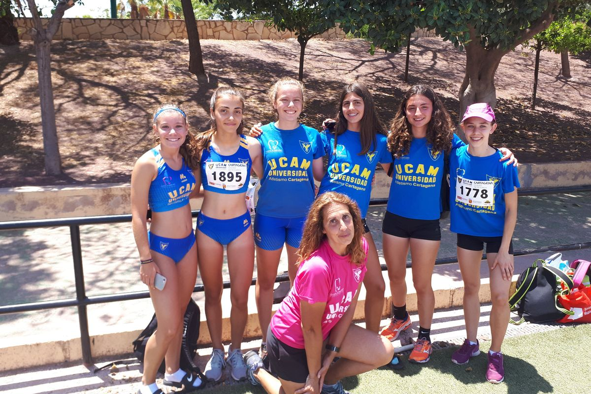 Campeonato Nacional Juvenil UCAM Atletismo Cartagena