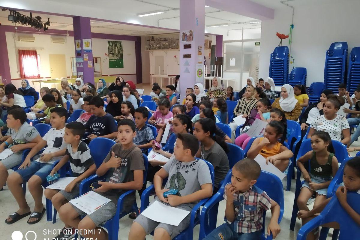 Clausura de la V edición del proyecto 'Educando en Familia' en la Barriada Virgen de la Caridad