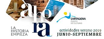 Actividades de Verano Cartagena Puerto de Culturas 2019