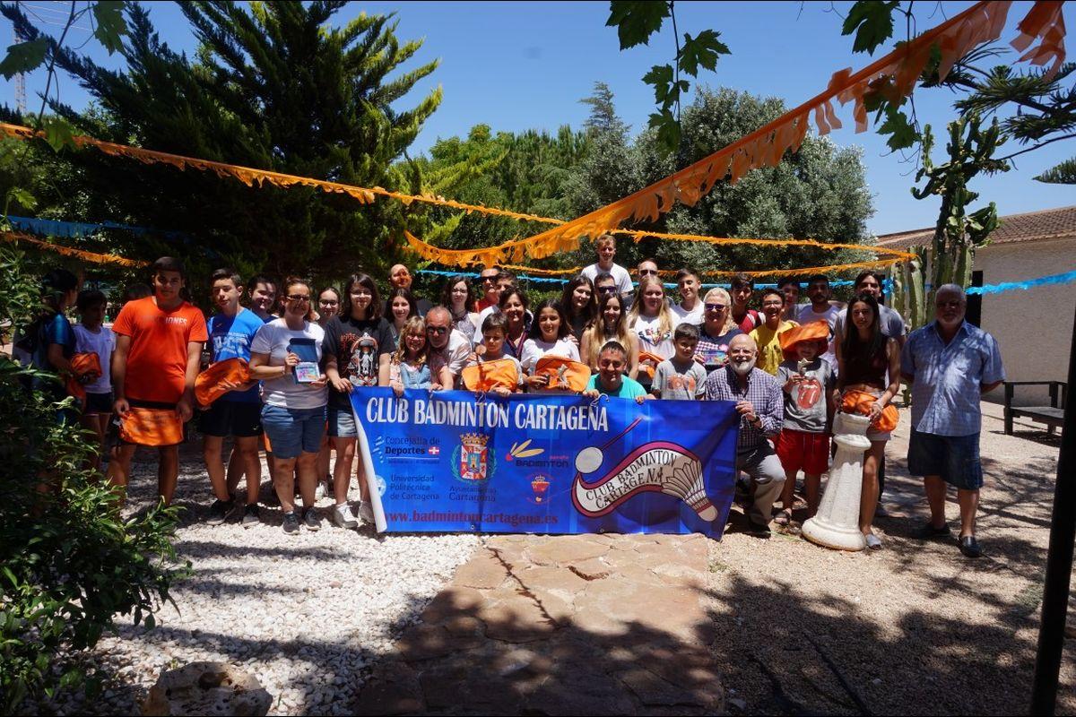 Fiesta clausura temporada Club de Bádminton Cartagena