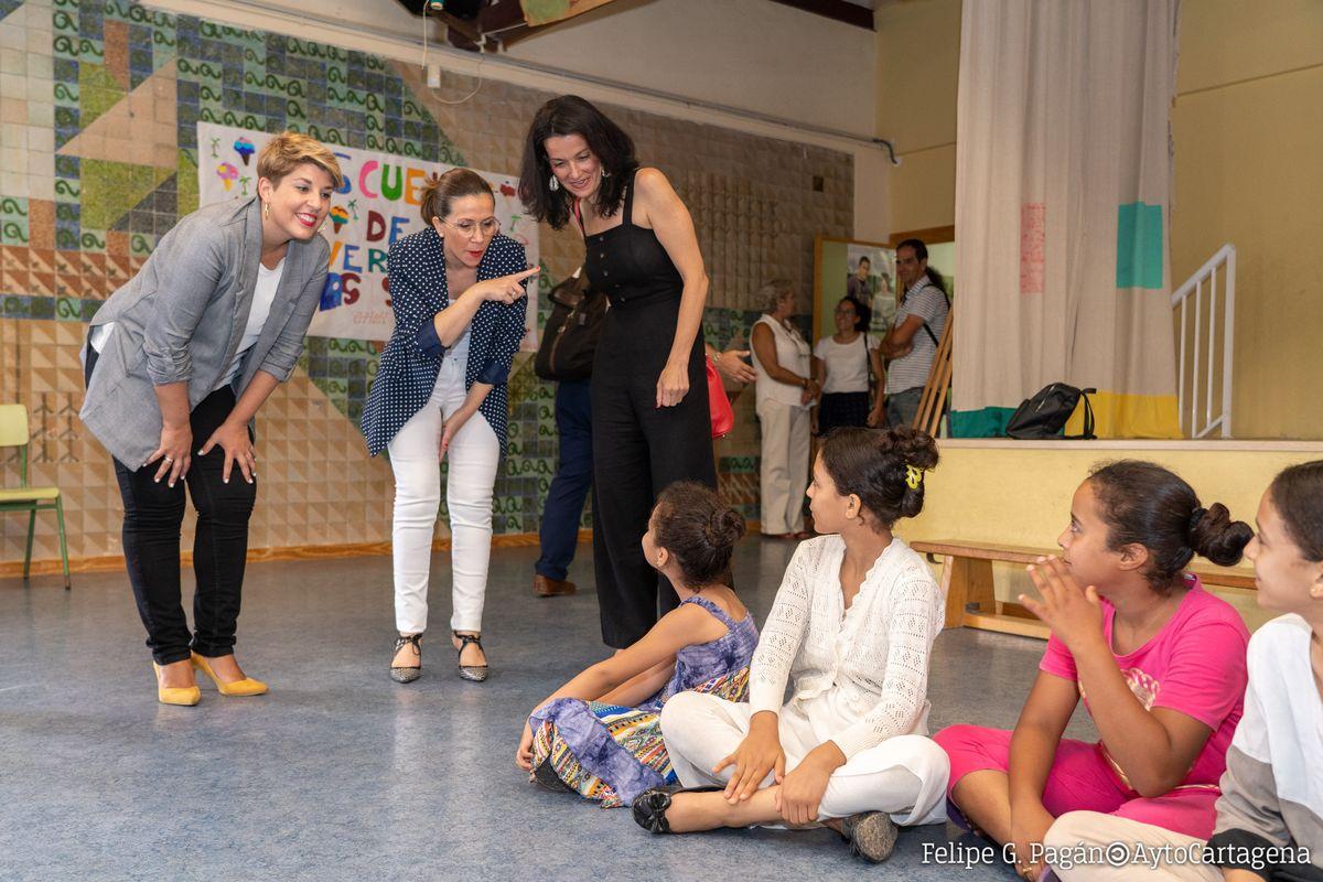 Visita Escuela infantil de Verano CEIP Stella Maris