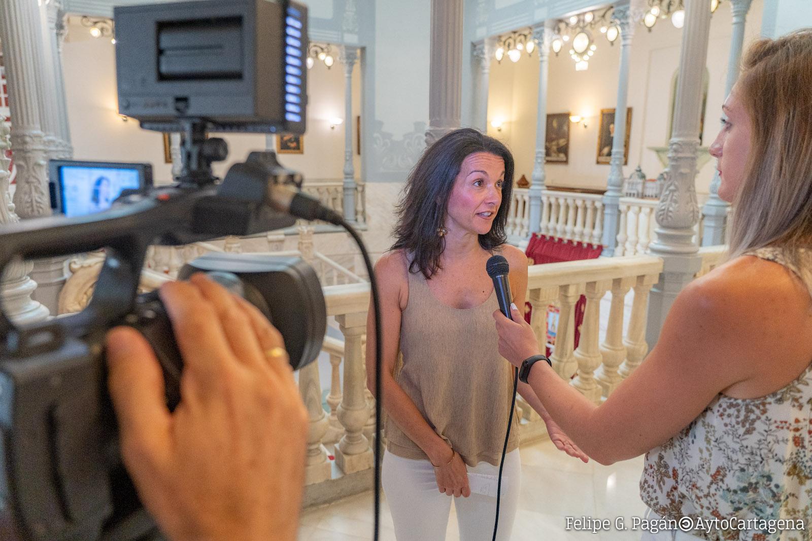 La edil de Educación, Irene Ruiz
