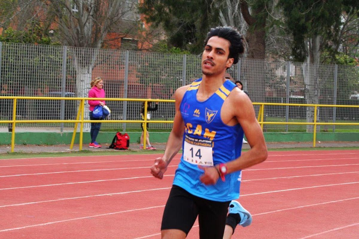 Moha Katir, del UCAM Atletismo Cartagena