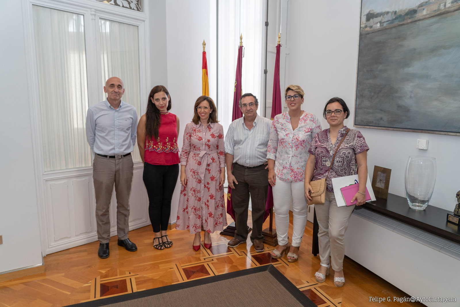 Reunión con representantes de la FAPA