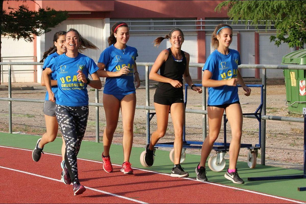 Campeonato de España de Federaciones Autonómicas de Atletismo atletas UCAM Cartagena