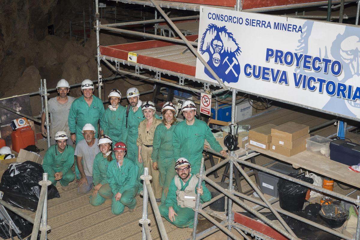 Campo de trabajo Cueva Victoria