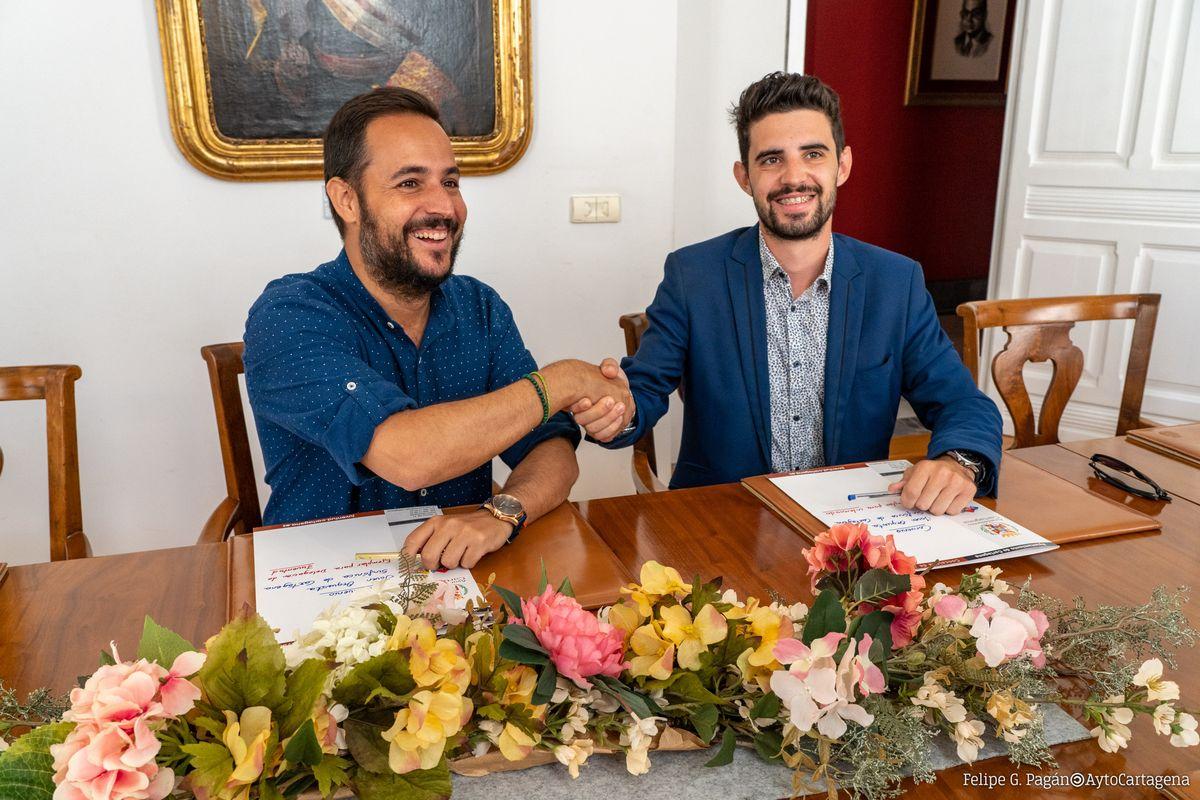 Firma del Convenio de Colaboración Ayuntamiento - JOSCT