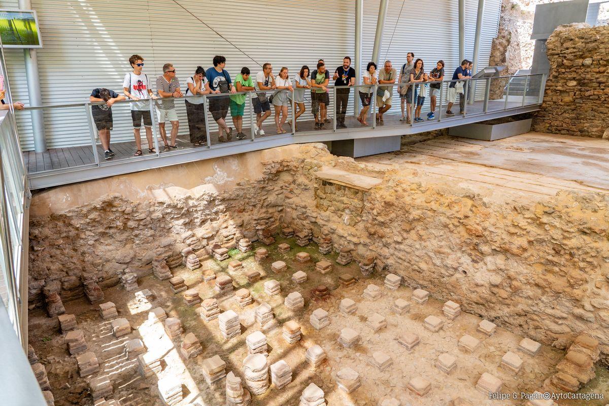 Cartagena Puerto de Culturas: visitas al Foro Romano