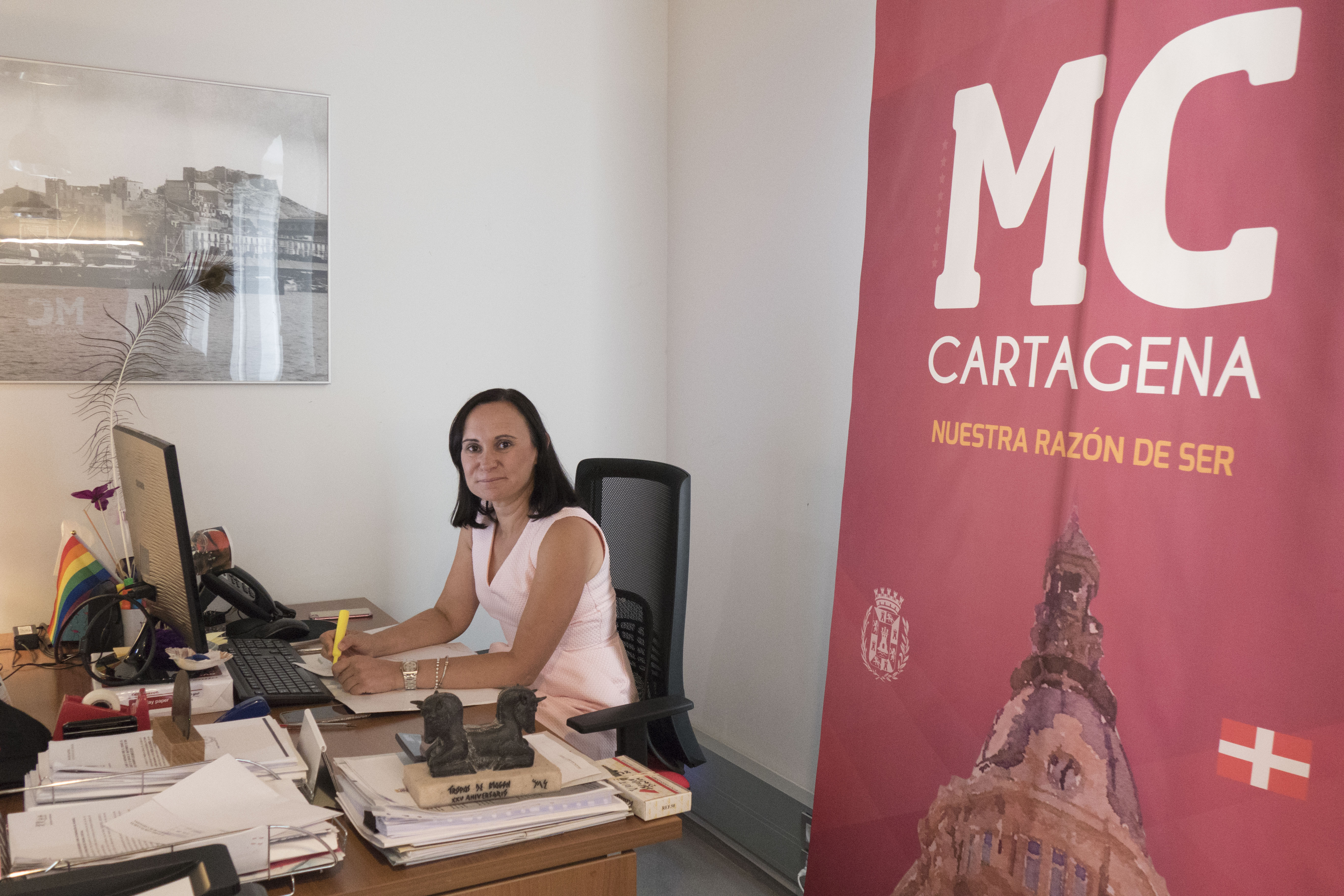 Isabel García. MC Cartagena