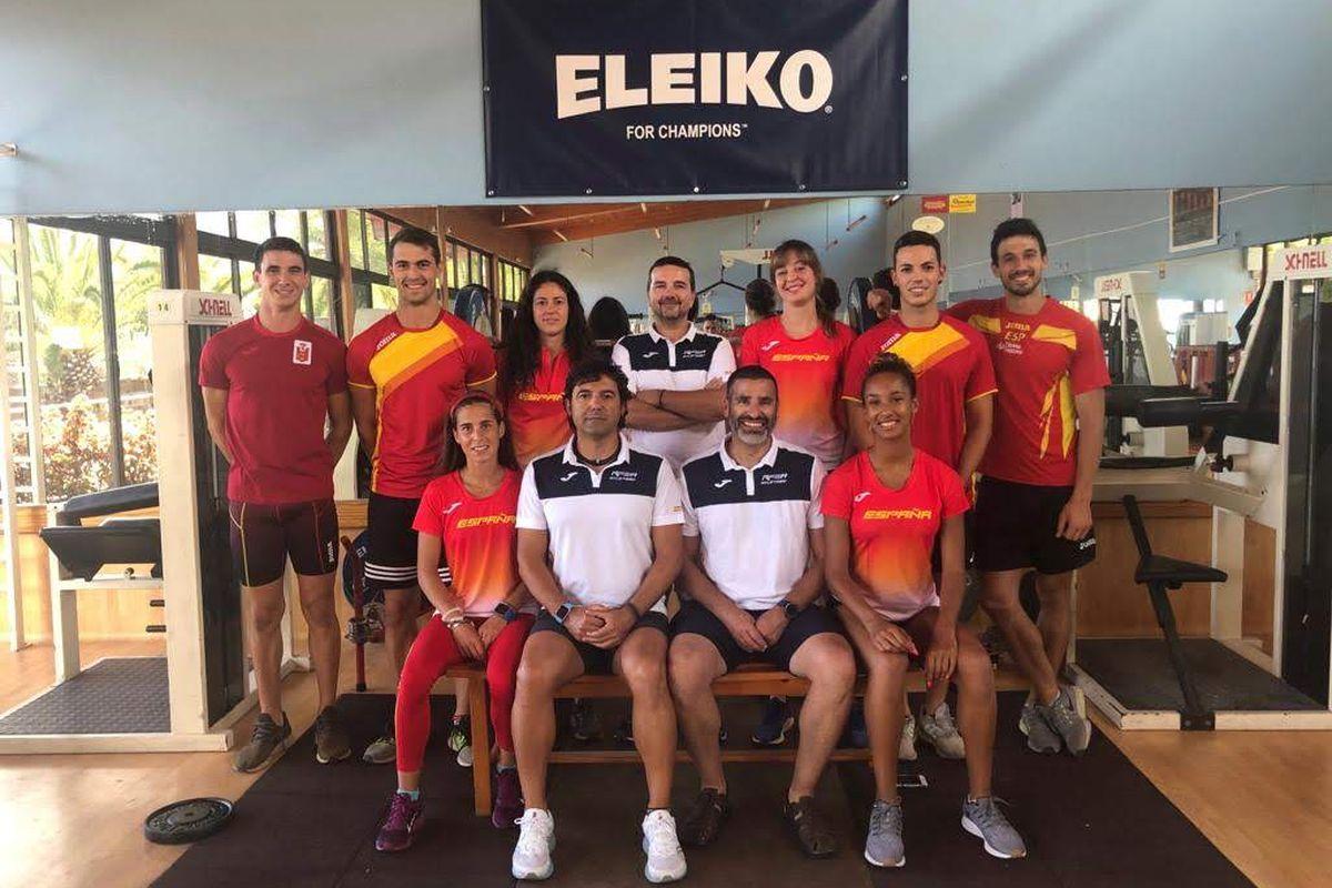 Atletas UCAM Cartagena Campeonato de España Atletismo Absoluto