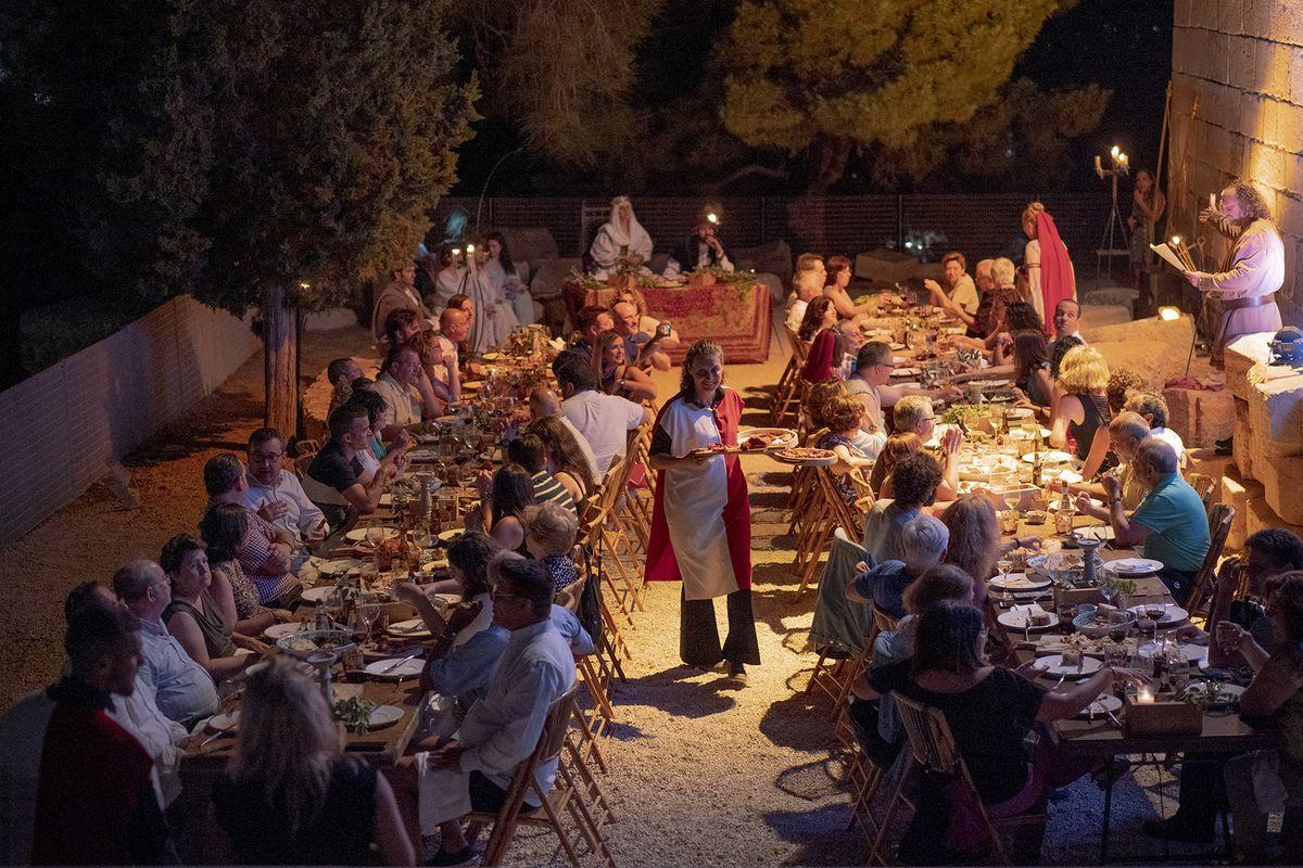 Cena medieval en el Castillo de la Concepción Cartagena Puerto de Culturas