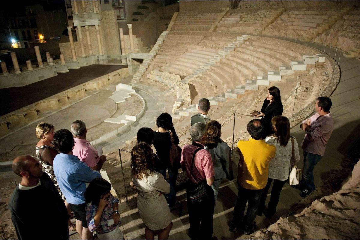 Visitas nocturnas Teatro Romano