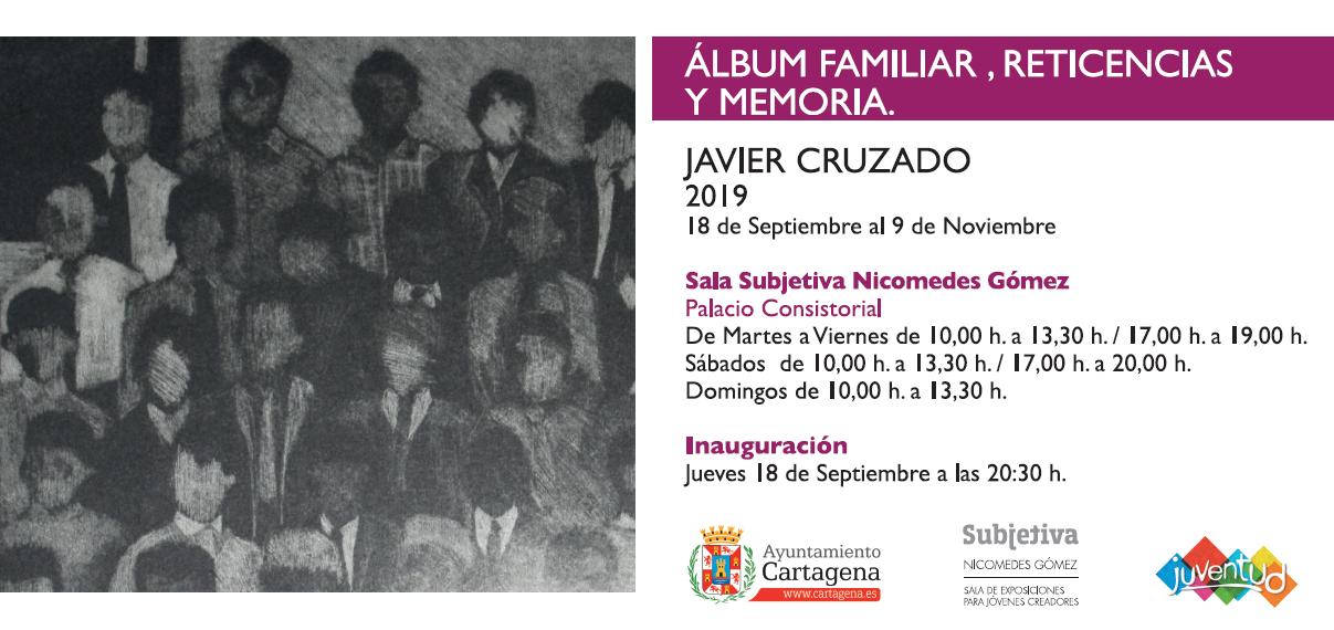 Exposición 'Álbum familiar, reticencias y memoria', de Javier Cruzado.
