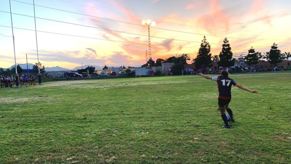 El Club de Rugby Universitario femenino en el partido del sábado 5 de octubre de 2019