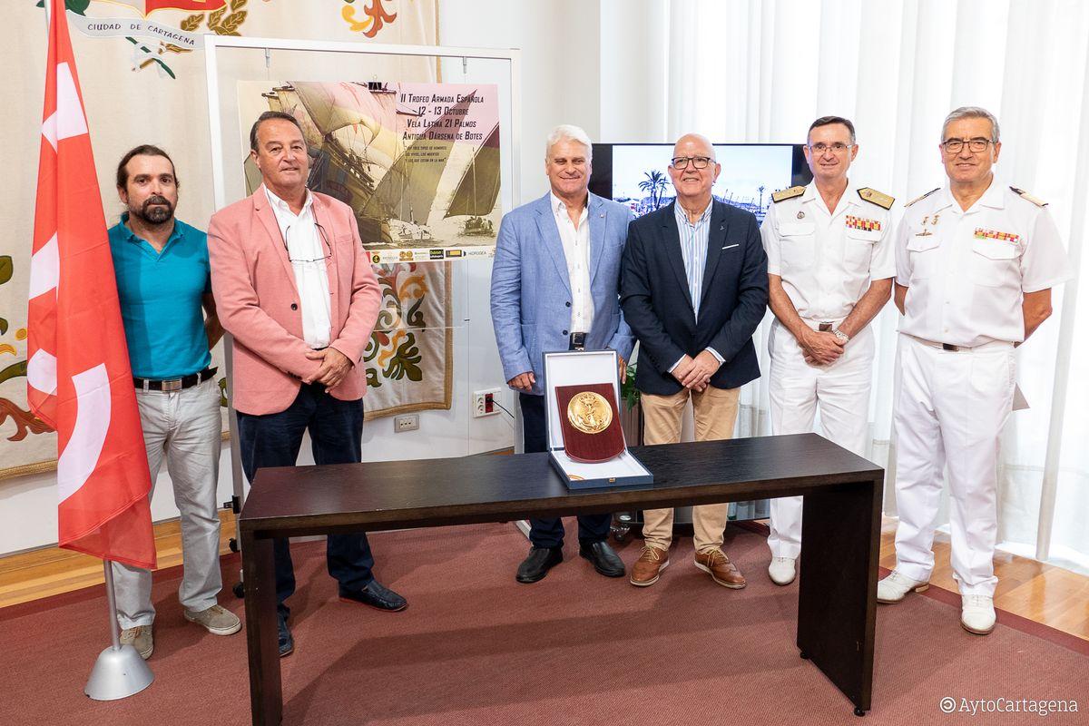 II Trofeo Armada Española de Vela Latina