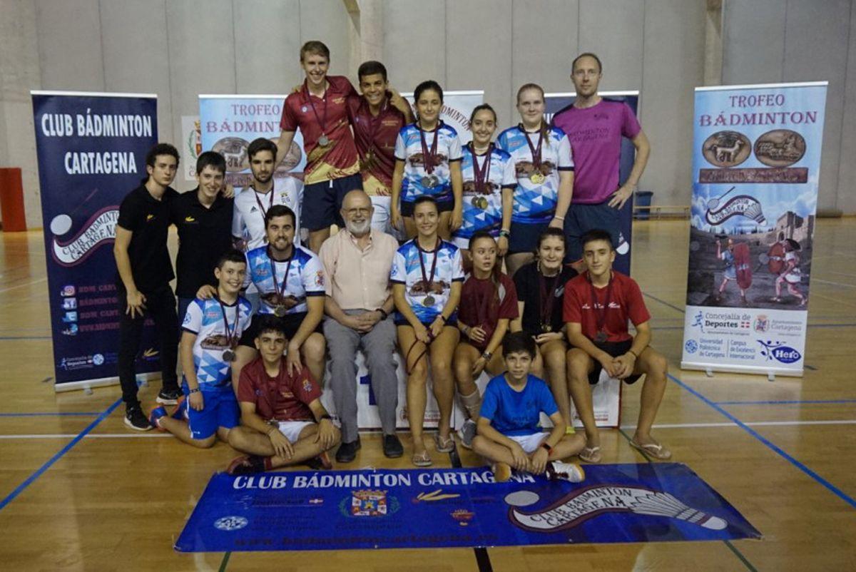 UPCT Bádminton Cartagena en el Palacio de los Deportes