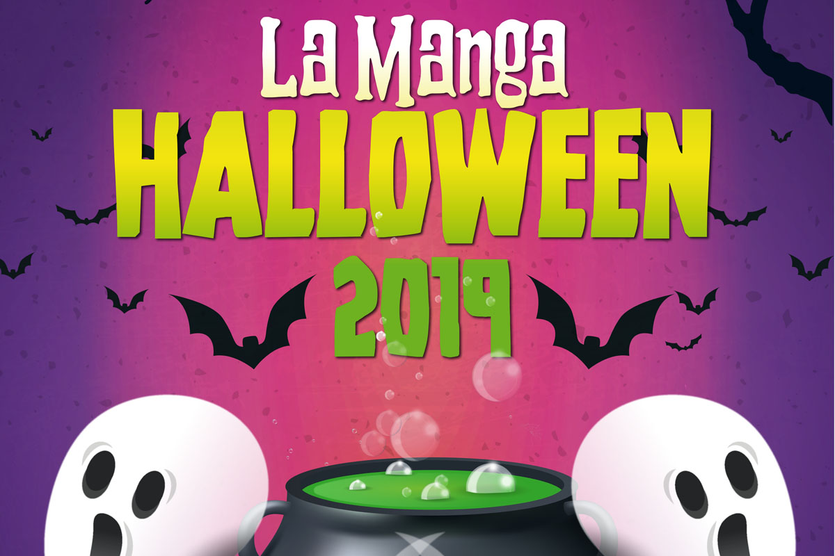 Fiesta Halloween en Galerías El Flamenco La Manga