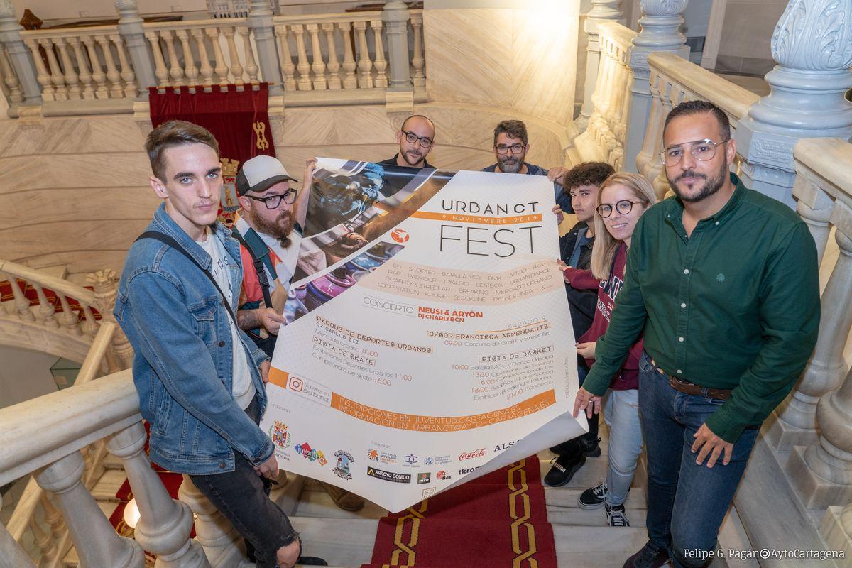 Presentación del UrbanCTFest 2019