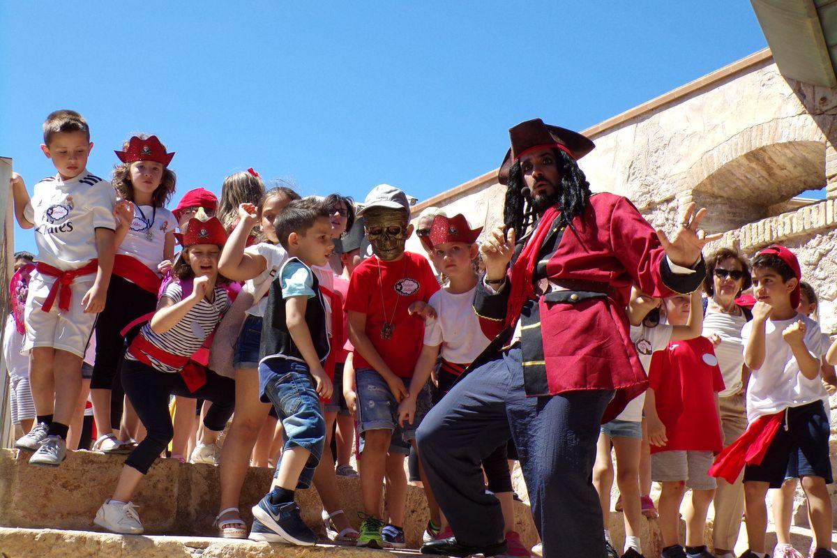 Piratas y princesas en el Fuerte de Navidad Cartagena Puerto de Culturas