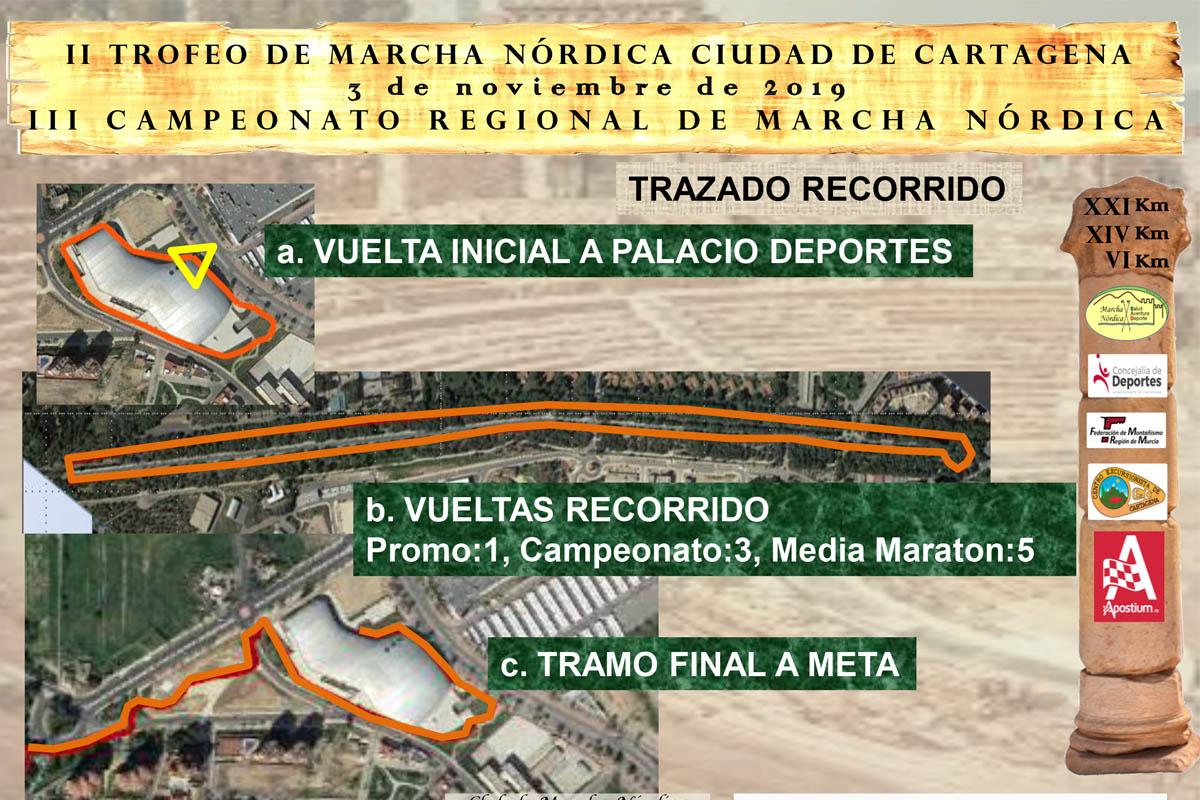 II Trofeo de Marcha Nórdica Ciudad de Cartagena