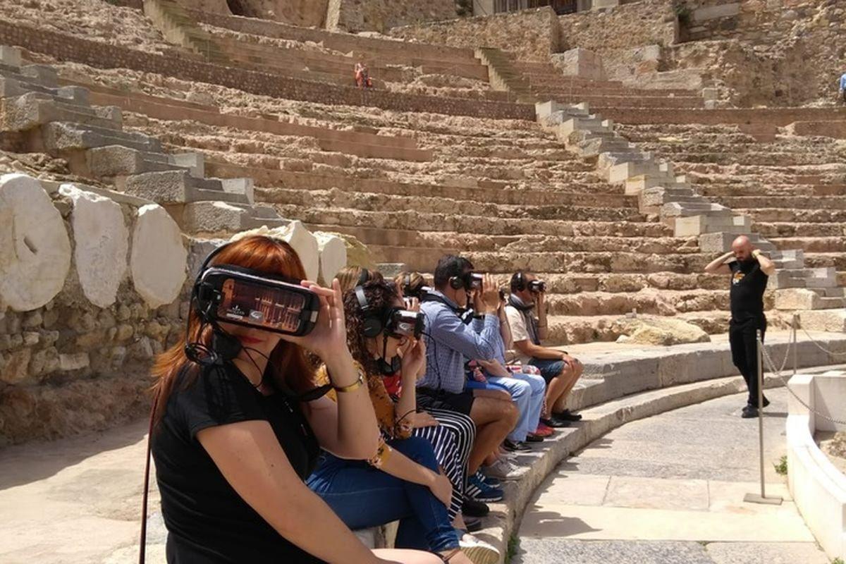Visita virtual al Teatro Romano de Cartagena