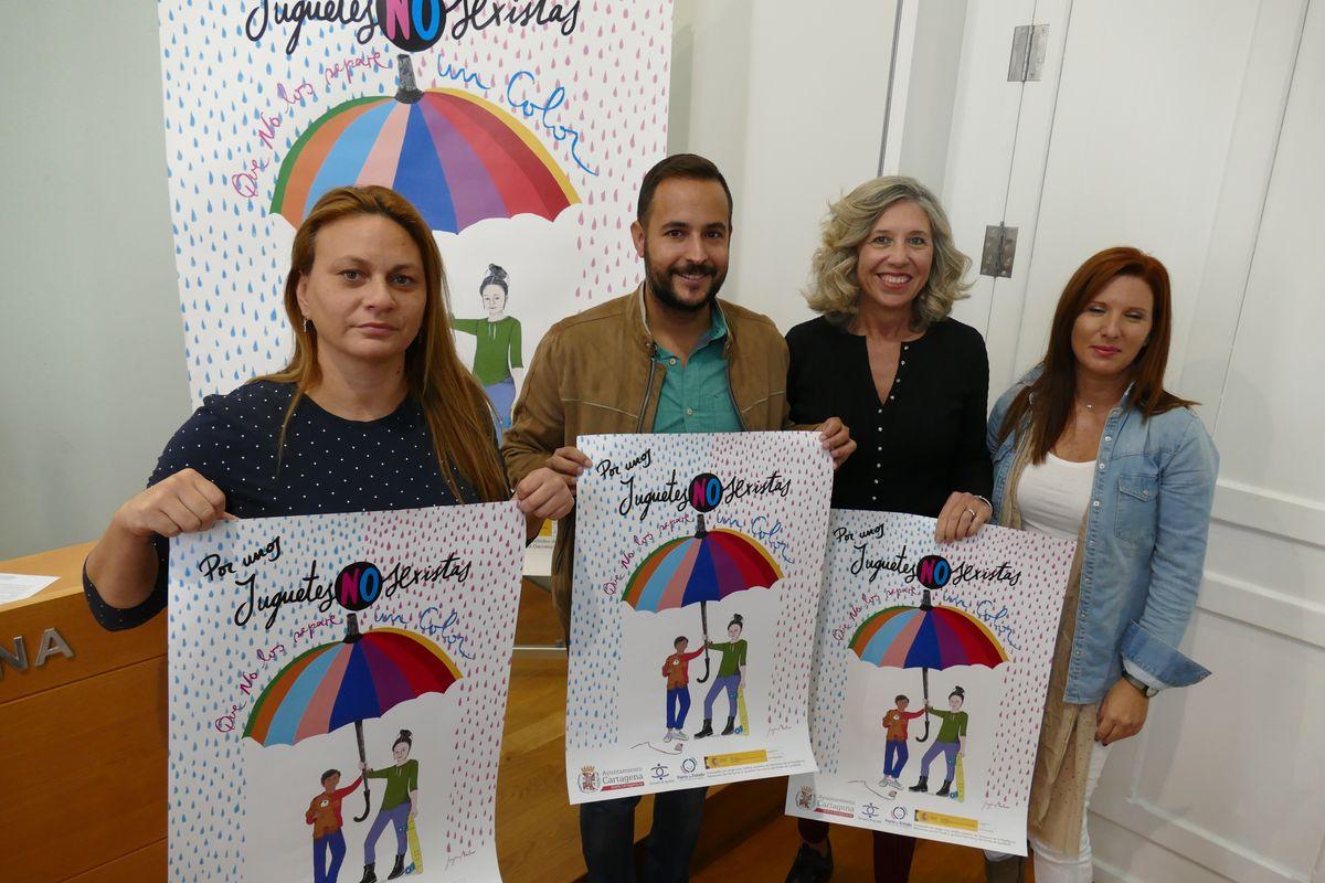 Presentación Campaña Igualdad 'Por un juguete no sexista'