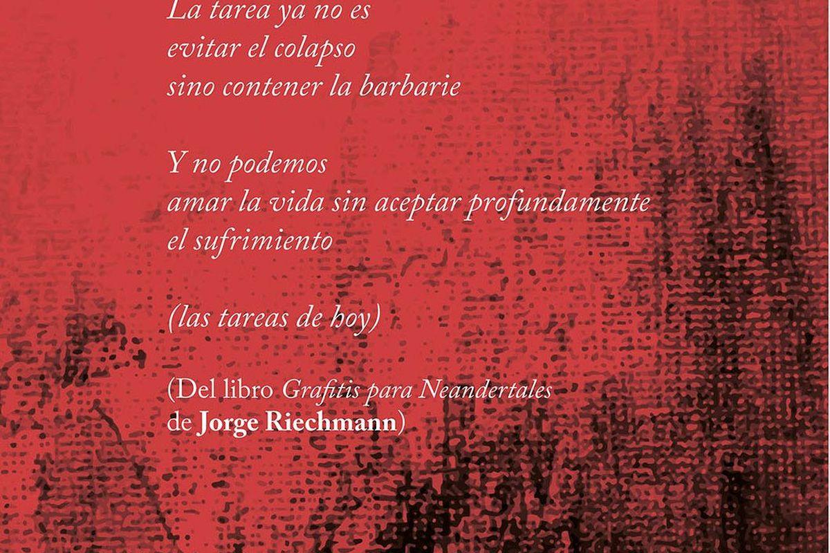Jorge Riechmann en Deslinde