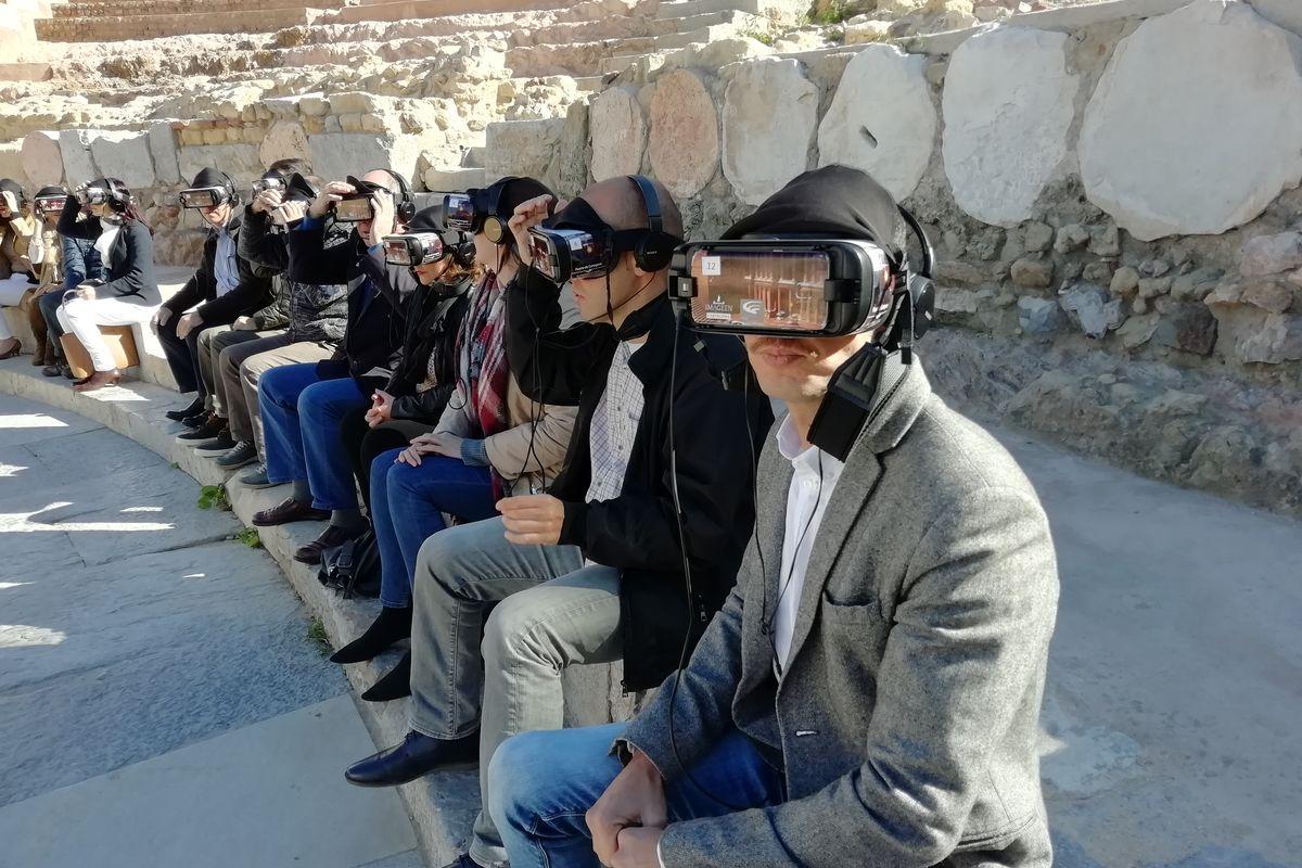 Tablets y gafas de realidad virtual en los yacimientos arqueológicos de Cartagena