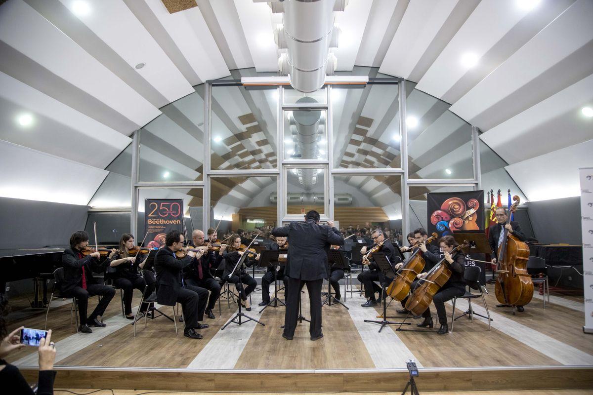 Concierto promocional Entre Cuerdas y Metales Murcia