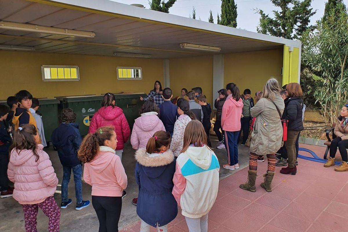 Visita Ecoparque Cartagena CEIP San Ginés de la Jara