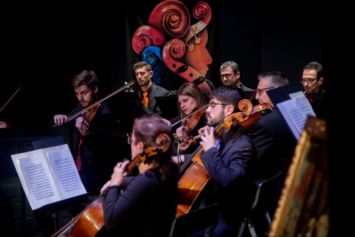 Concierto promocional Entre Cuerdas y Metales Jumilla