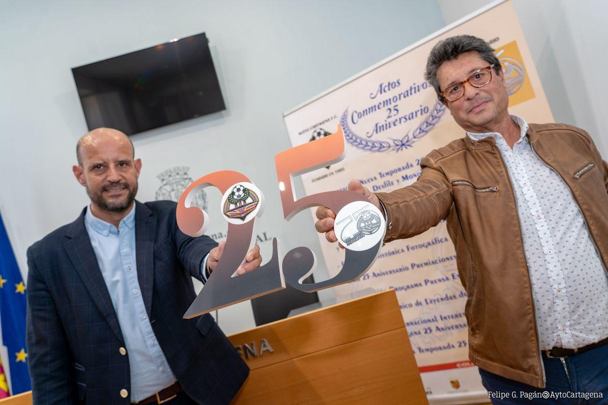Presentación Actos conmemorativos 25 aniversario Nueva Cartagena FC