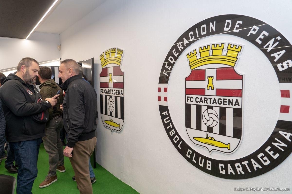 Inauguración Sede Federacion De Peñas Fc Cartagena