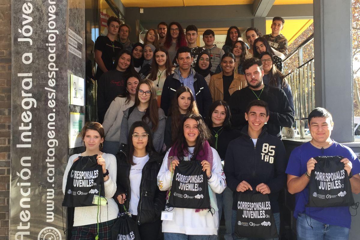 Reunión Corrsponsales Juveniles curso 2019/2020