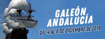 Visitas guiadas al Galeón Andalucía