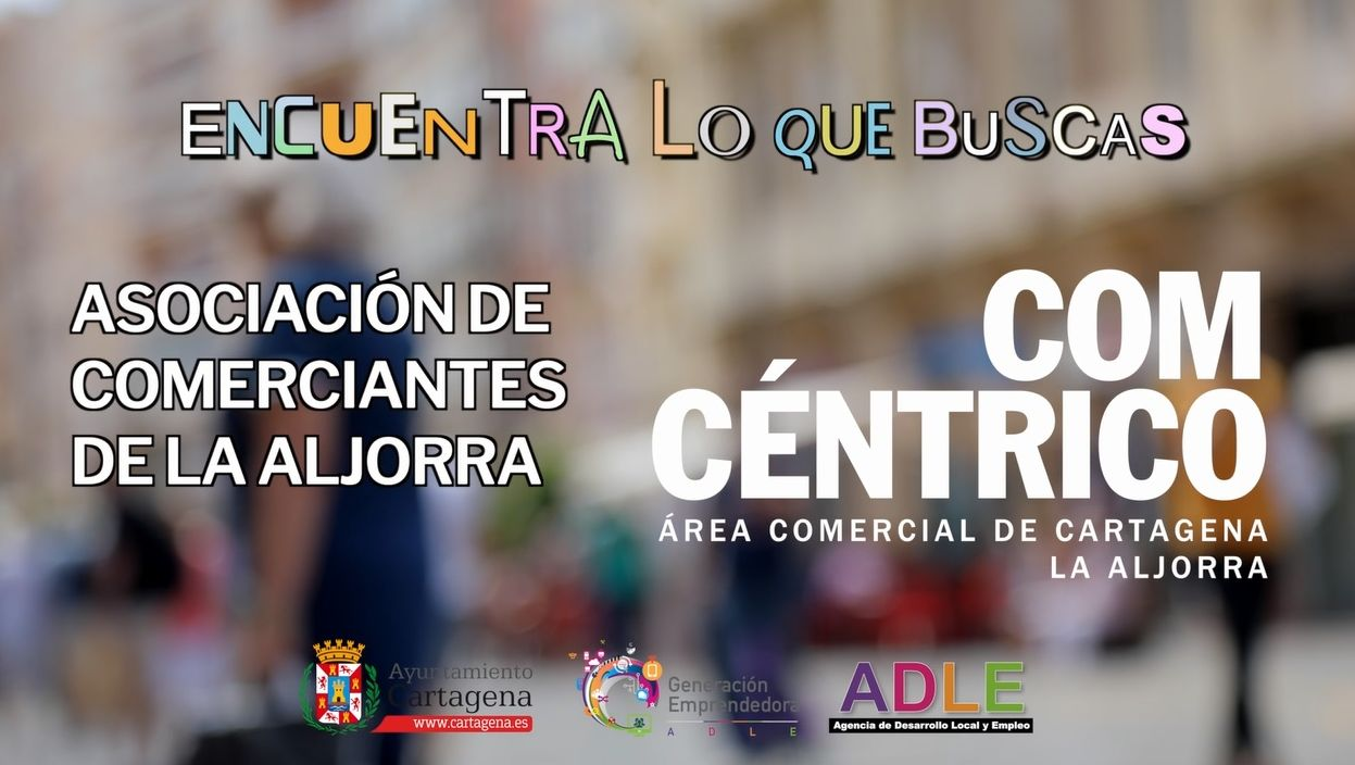 Campaña ADLE Asociación Comerciantes La Aljorra