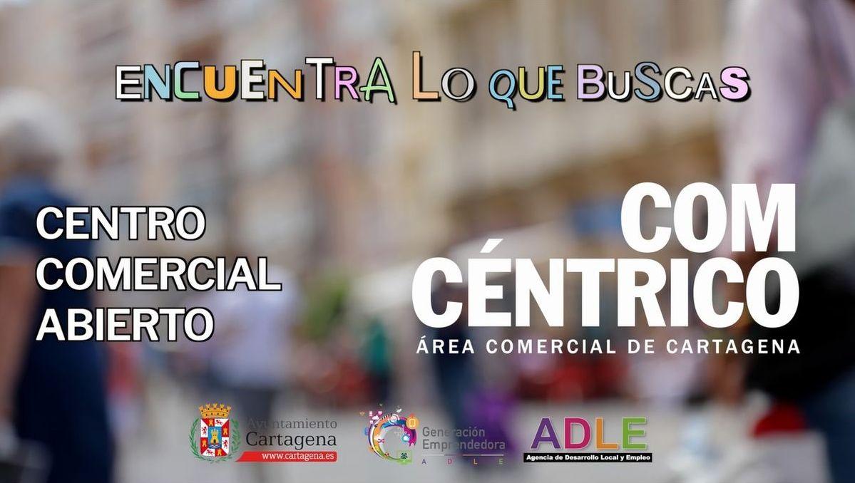 Centro Comercial Abierto campaña ADLE