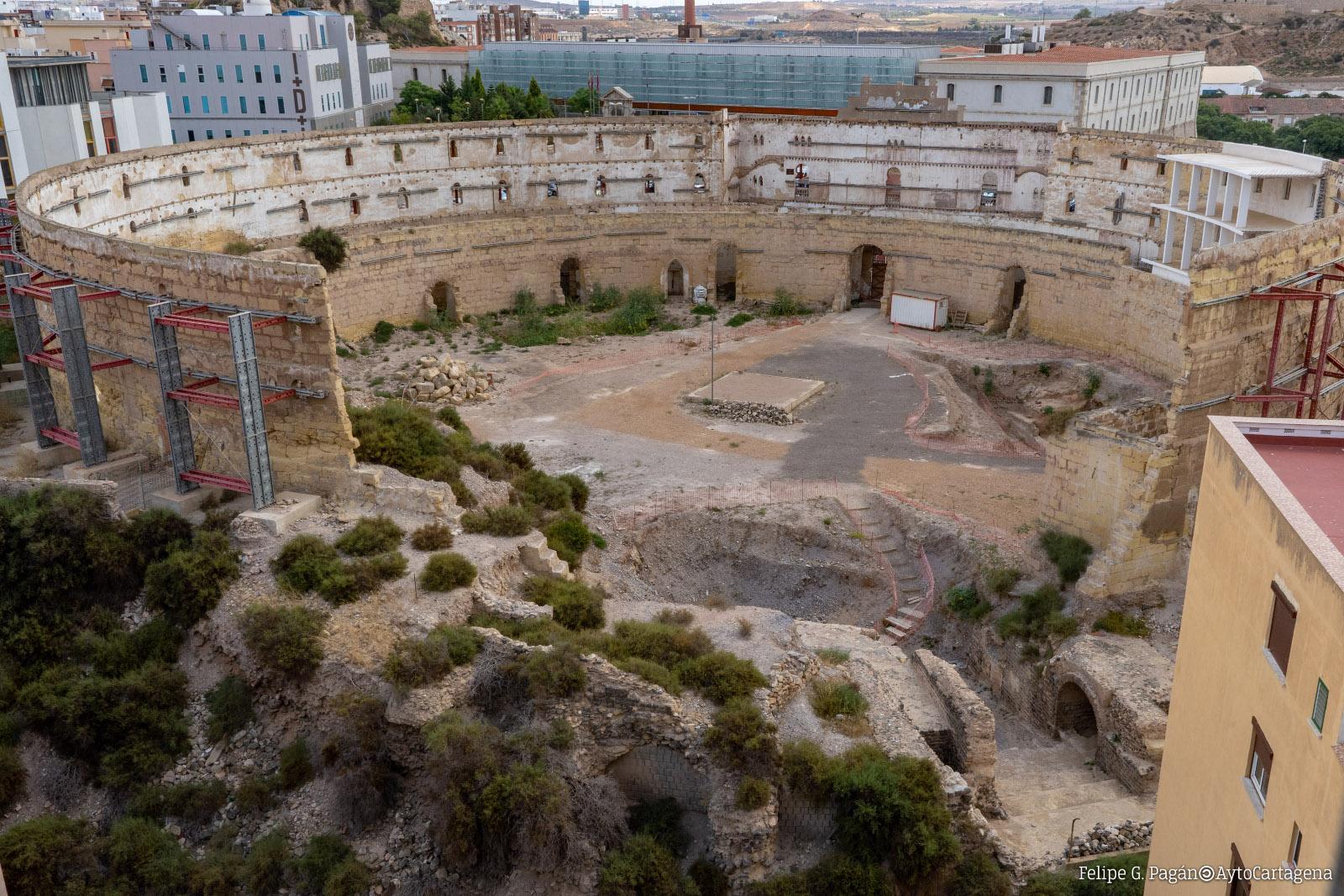 Imagen del Anfiteatro Romano