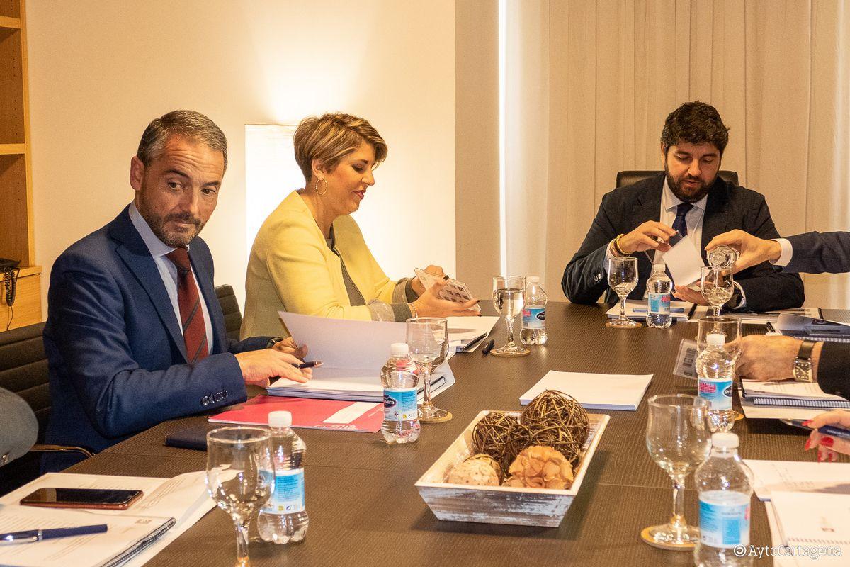 Reunión del Patronato de la Fundación del Teatro Romano de Cartagena