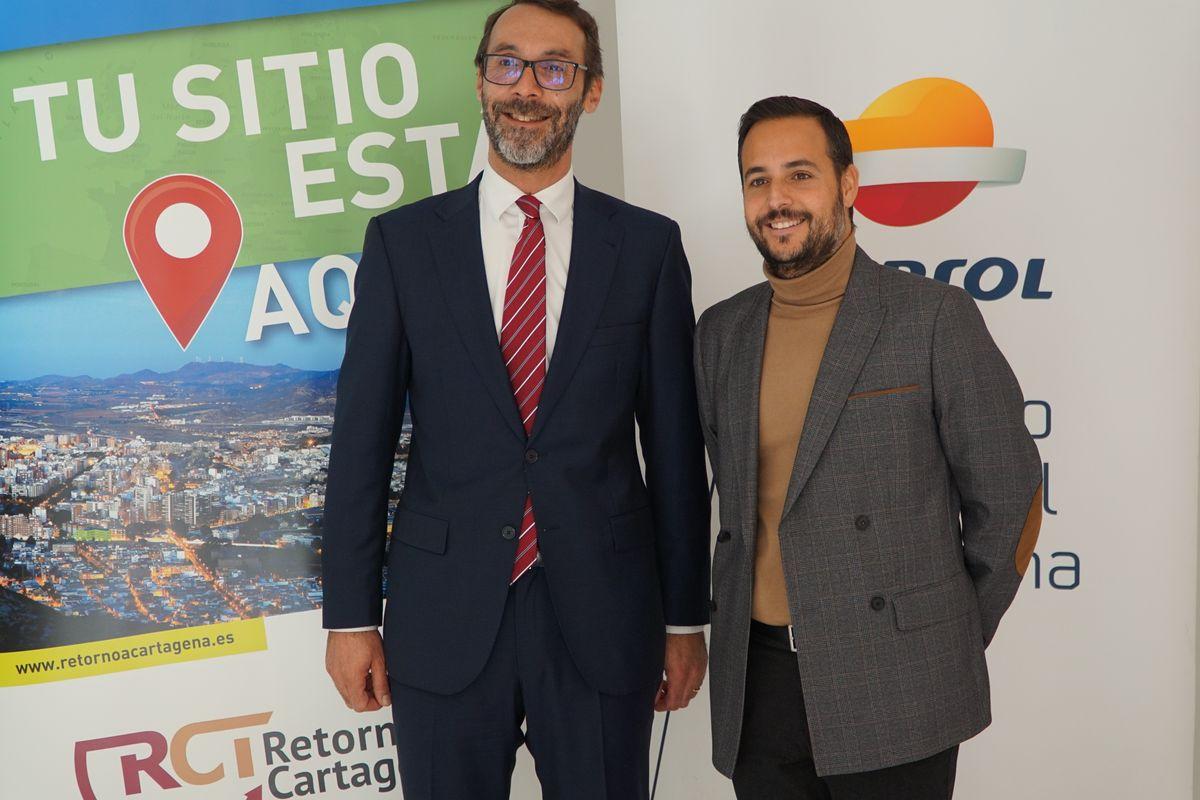 Adhesión de Repsol al programa de la Concejalía de Juventud 'Retorno a Cartagena'