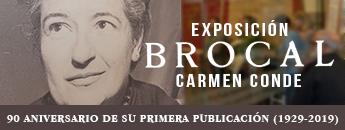 Exposición Carmen Conde Brocal (Poemas) 90 aniversario de su primera publicación (1929-2019)
