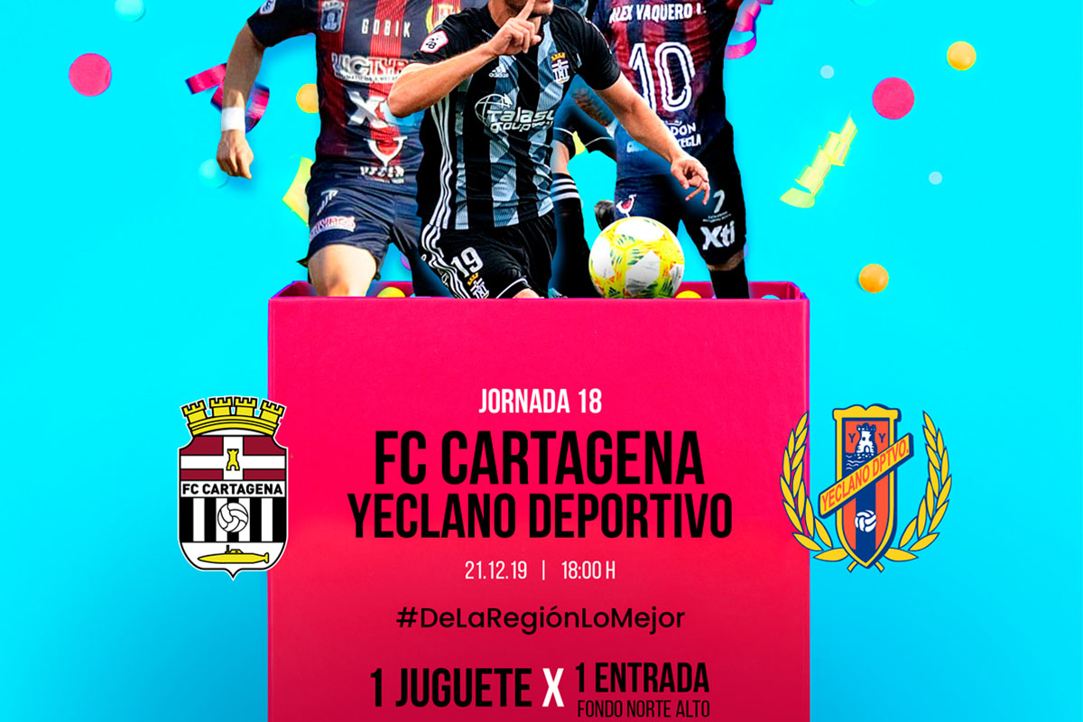 Recogida de Juguetes FC Cartagena