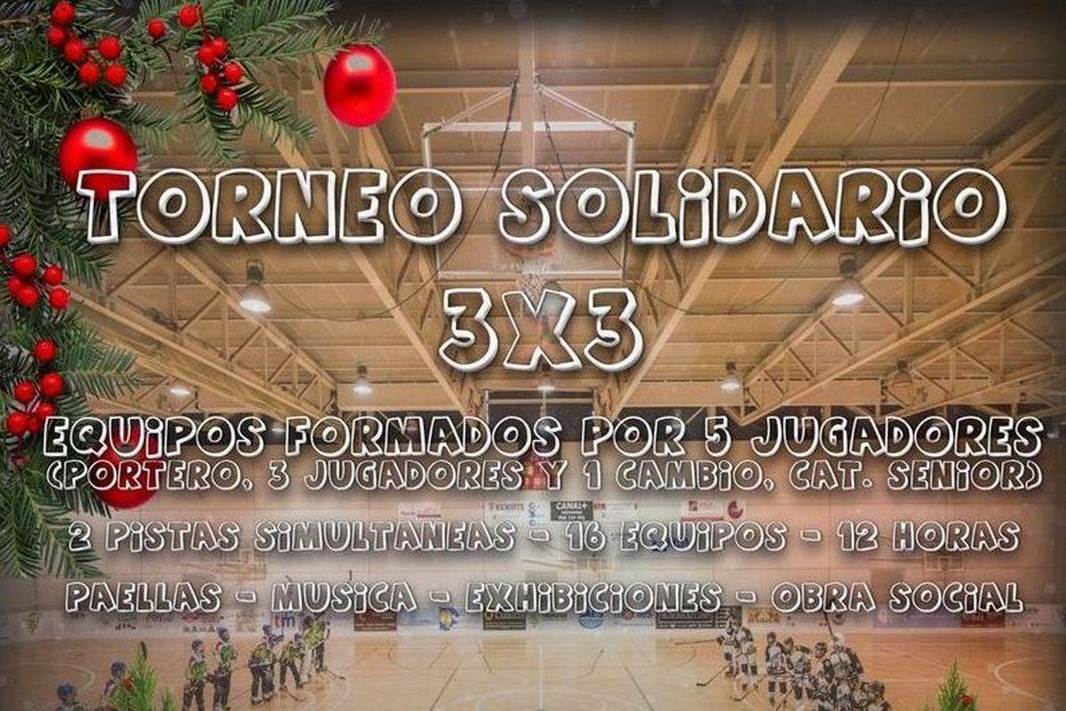 Torneo solidario 3x3 del Club de Hockey de Cartagena