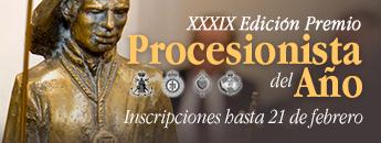 XXXIX edición del Premio Procesionista del Año 2020