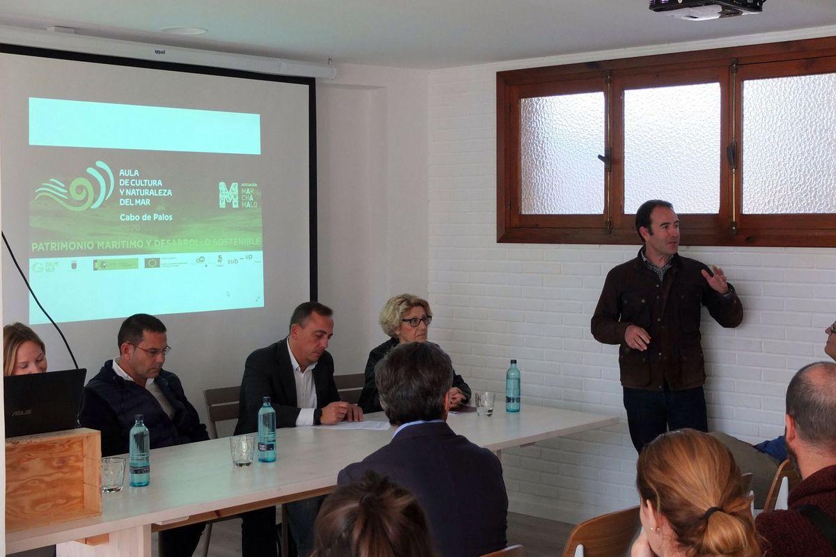 Presentación del Aula de Cultura y Naturaleza del Mar en Cabo de Palos