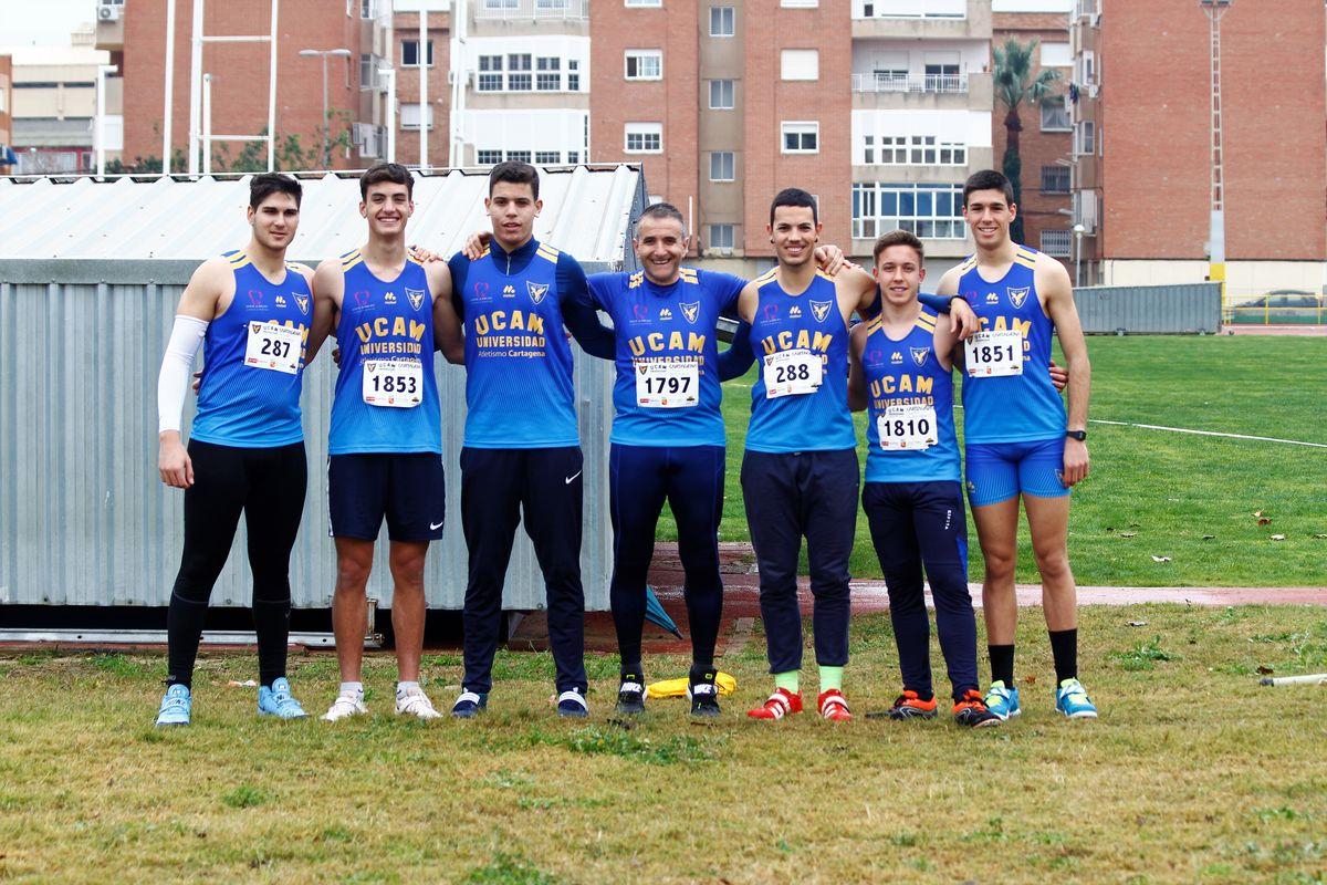 Control de marcas de la temporada de invierno 2020 UCAM Atletismo Cartagena