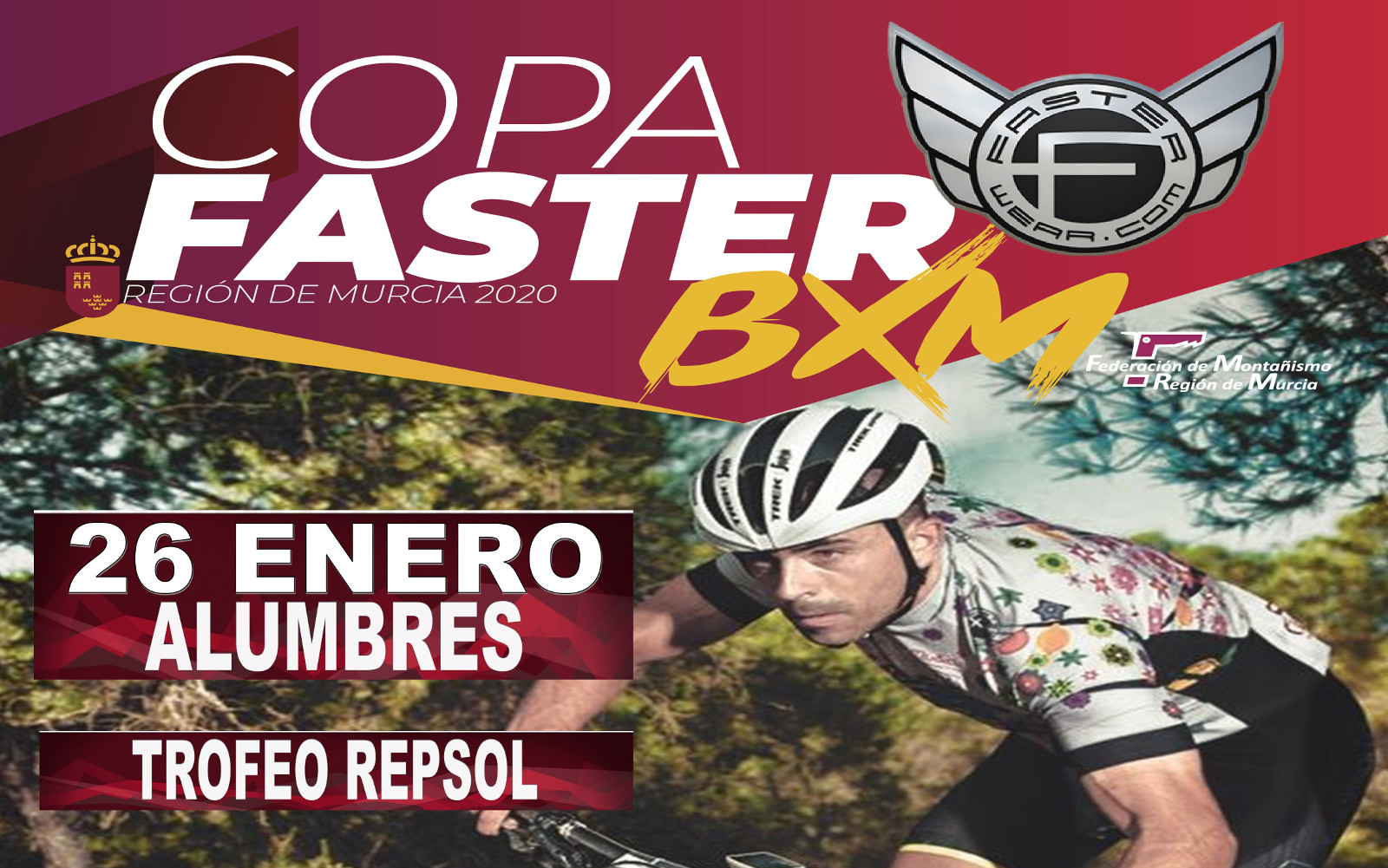 Cartel Copa Faster BXM Alumbres 2020