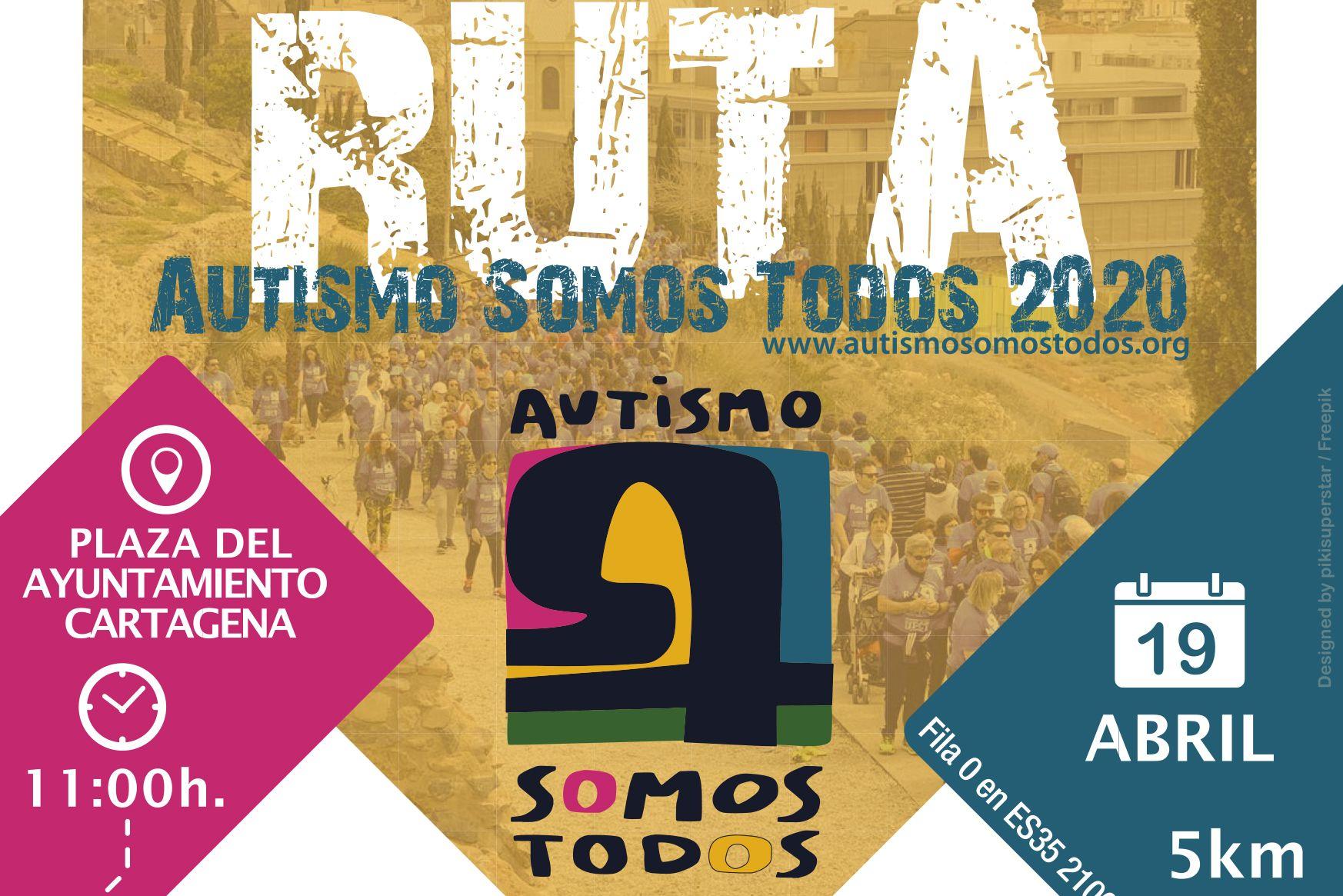 RUTA BENÉFICA: AUTISMO SOMOS TODOS (Plaza del Ayuntamiento)